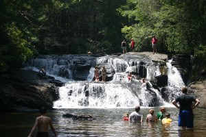 Dick's Creek Falls, GA