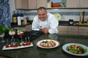 Chef Randal White at The Chef's Table