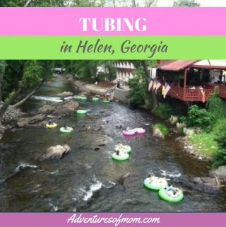 Tubing in Helen, Georgia