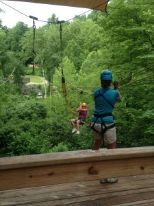 Zip-lining at the NOC