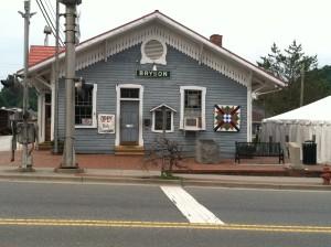 Train Depot in Bryson City, NC