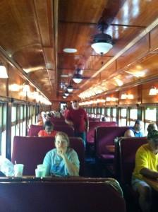 Nantahala Gorge train ride