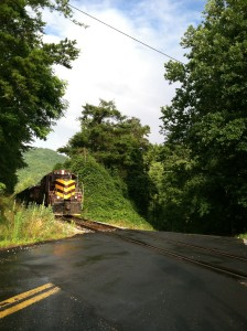 The Great Smokey Mountain Railroad