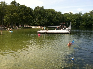Wakulla Springs High Dive is a rite of passage