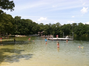 The high dive at Wakulla Springs is a rite of passage for the local youth
