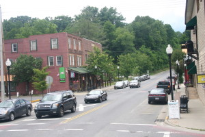Bryson City downtown