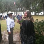 Navigator marries J.K.- a hiker wedding in the woods