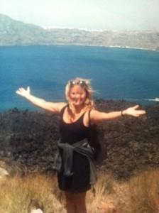 Nea Kameni, Santorini's volcano