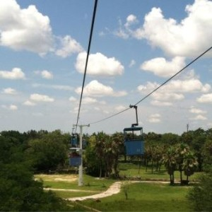 The Skyride at Busch Gardens, Tampa