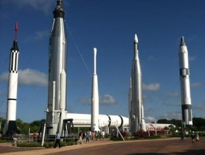 Rocket Garden at Kennedy Space Center