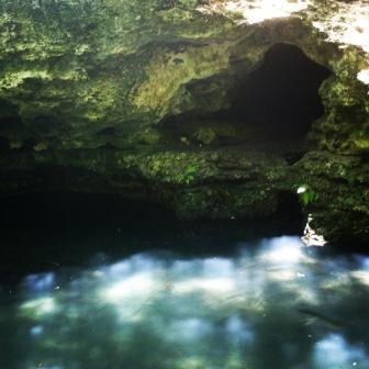 Grotto at Scott Springs Park in Ocala, FL