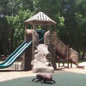 Playground at Scott Springs Park in Ocala, FL
