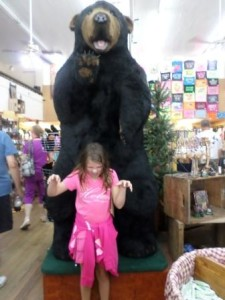 Does this bear make me look fat? The General Store, Old Mill District, Pigeon Forge