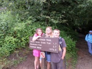 Finding the Appalachian Trail at The Great Smoky Mountain National Park