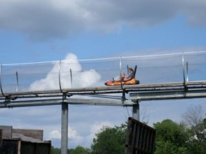Hop off the Parkway in Pigon Forge for some alternative family fun, like the Smoky Mountain Alpine Coaster.