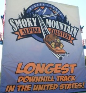 Smoky Mountain Alpine Coaster at Pigeon Forge