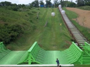 Outdoor Gravity Park, where Sir Issac Newton's Law of Gravity rules!
