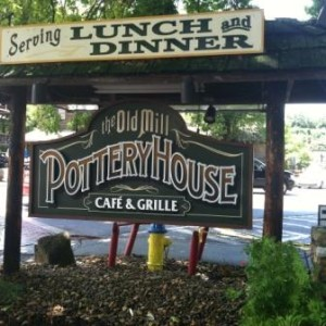 Enjoy the fresh bread at the Pottery House Cafe and Grille in Pigeon Forge