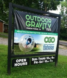 Hop off the Pigeon Forge Parkway for some alternative family adventures like the Outdoor Gravity Park.
