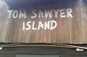 Tom Sawyer's Island at the Magic Kingdom in Walt Disney World