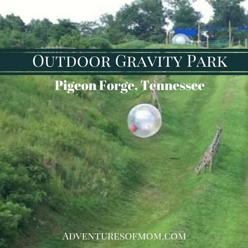 Outdoor Gravity Park in Pigeon Forge
