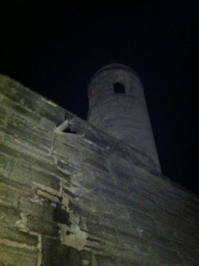 Castillo de San Marcos by night. St. Augustine, Florida
