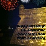 Our birthday card to the 450 year old city of St. Augustine. Isn't she a timeless beauty? From AdventuresOfMom.com