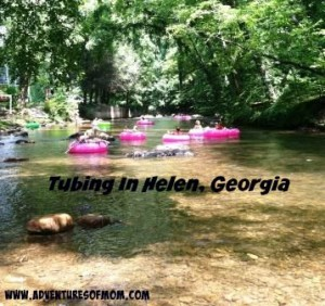 Tubing in Helen, Georgia