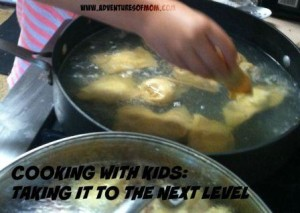 Cooking with kids: Taking it to the next level: Intermediate