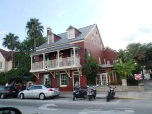 Harry's Bar and Griil in old St. Augustine