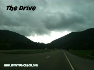 Driving through Wears Valley to Pigeon Forge