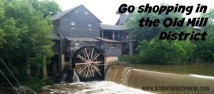 The historic Old Mill in Pigeon Forge