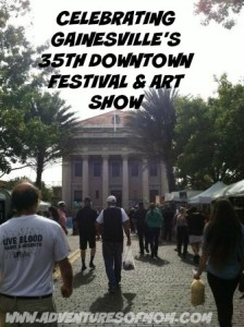 We hit the swamp to explore Gainesville's 35th Annual Downtown Festival & Art Show