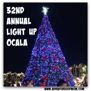 32nd Annual Light Up Ocala celebration