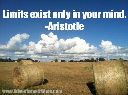 Live a limitless life today- adventuresofmom.com