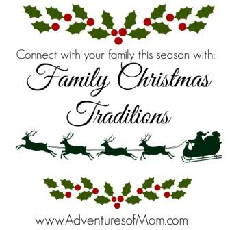 Start your own family Christmas tradition this year.