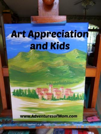 Introducing your kids to art appreciation