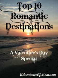 Top Ten Romantic Destinations (US version)