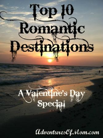 Top Ten Romantic Destinations (US version)