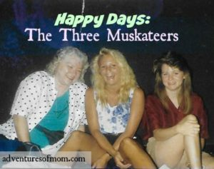 My mom, me, and my sister Susan. They have since died and I miss them every day.