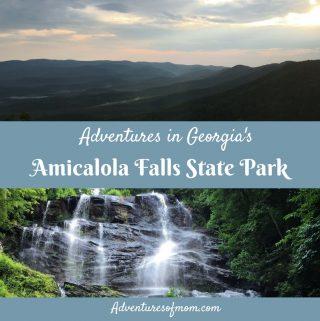 Adventures in Georgia's Amicalola Falls State Park