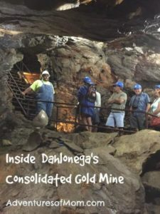 Taking a tour of Consolidated Gold Mine