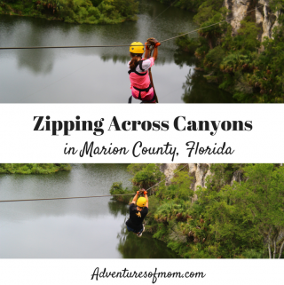 Zipping Across Canyons in Marion County, Florida