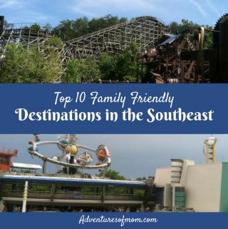 Top 10 Family Destinations in the Southeast