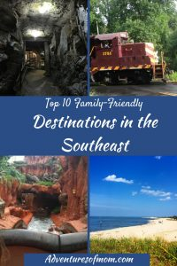 Top 10 Family Friendly Destinations in the Southeast