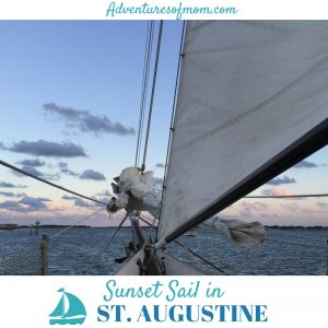 Sunset Sailing in St. Augustine