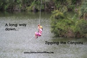 Zip Lining across canyons is awesome!
