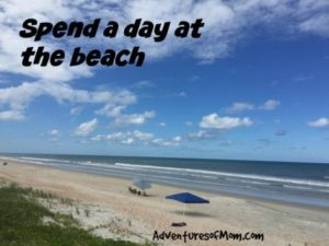 Spend a day at the beach.