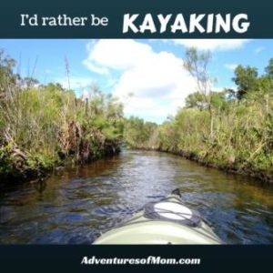 I'd rather be kayaking