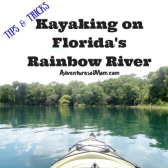 Kayaking Florida's Rainbow River